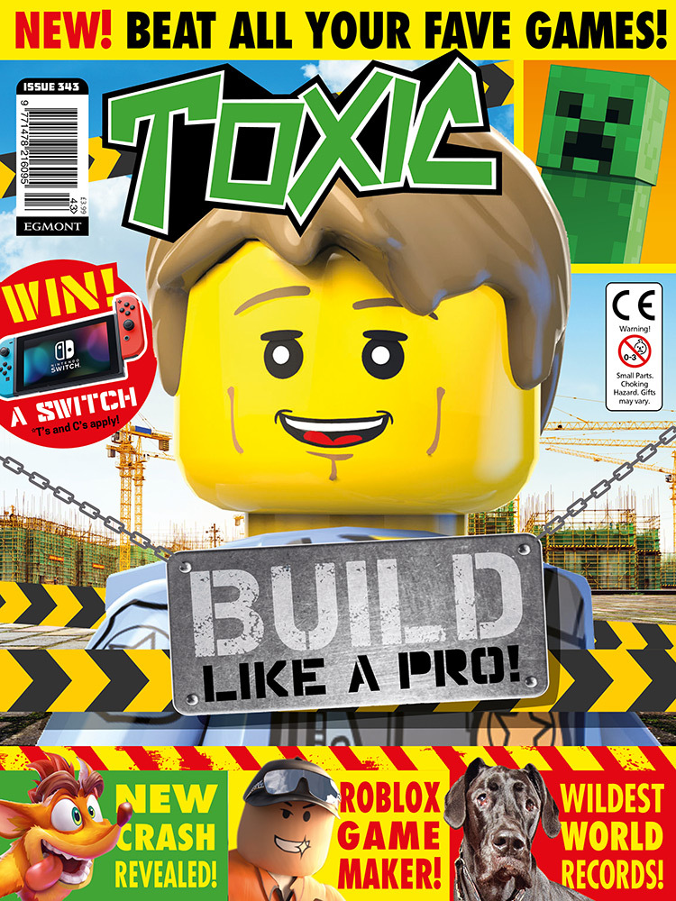 Toxic Magazine Issue 343 Cover
