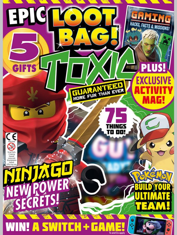 Toxic Magazine Issue 344 Cover