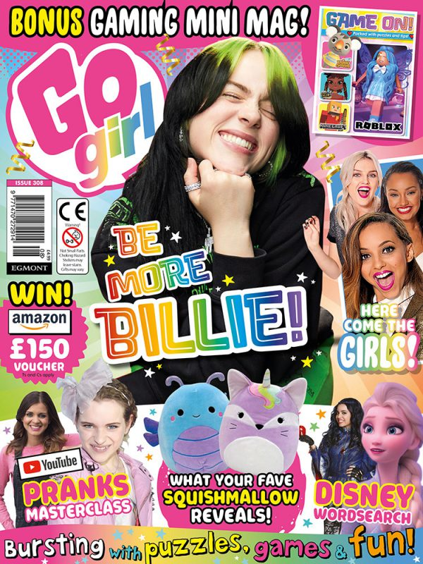 Go Girl Issue 308 Cover