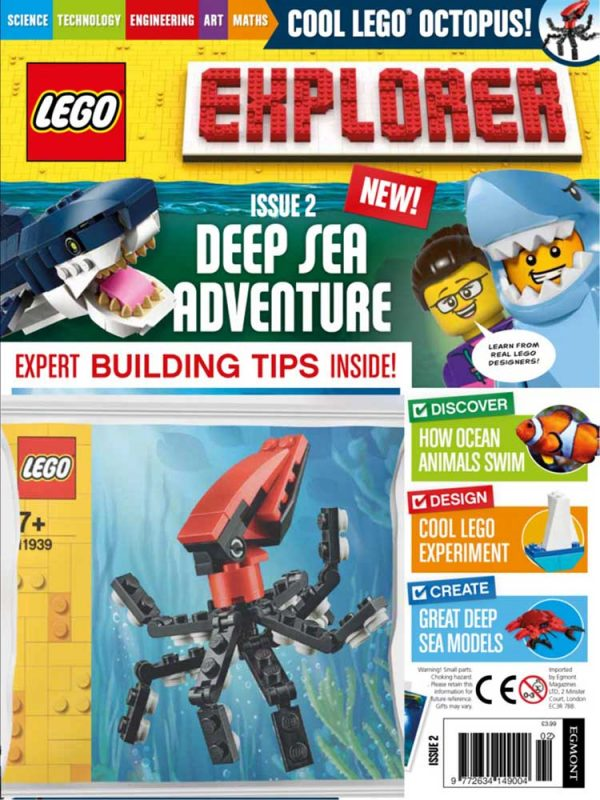 LEGO Explorer Subscription Magazine Issue 2