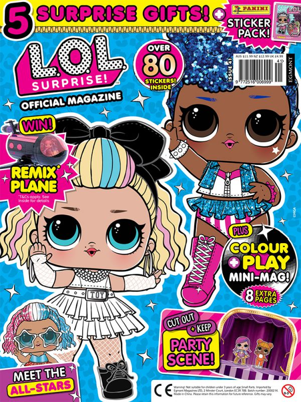 LOL Surprise Issue 41 Cover