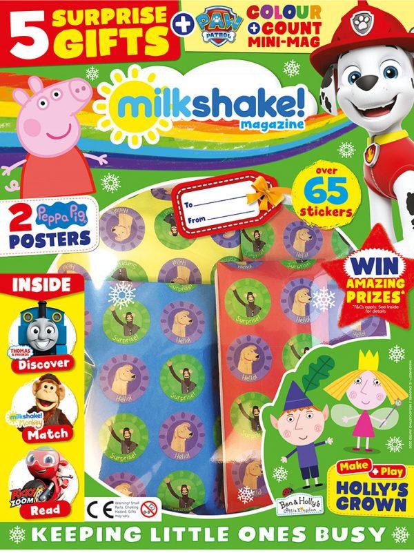 Milkshake Magazine Issue 12 Cover