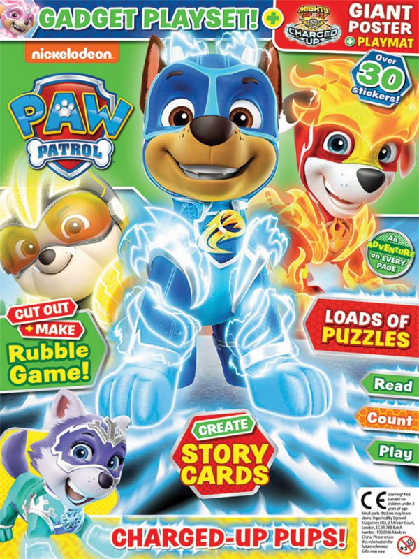 Paw Patrol Issue 73 Cover