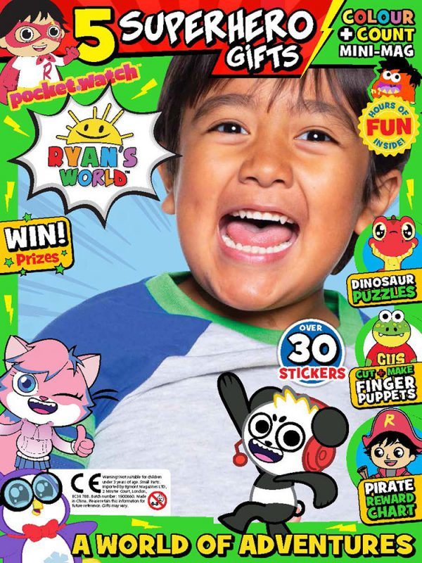 Ryan's World Issue 17 Cover