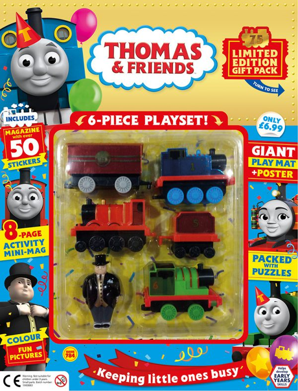 Thomas & Friends Issue 784 Cover