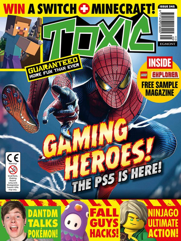 Toxic Magazine Issue 345 Cover