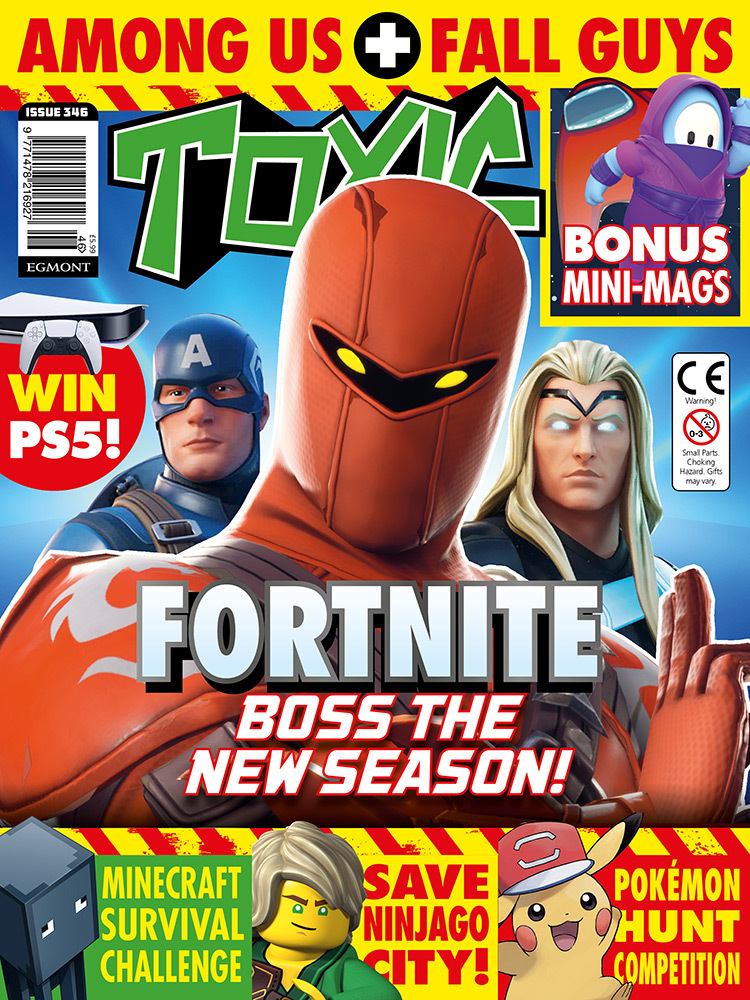 Toxic Magazine Issue 346 Cover