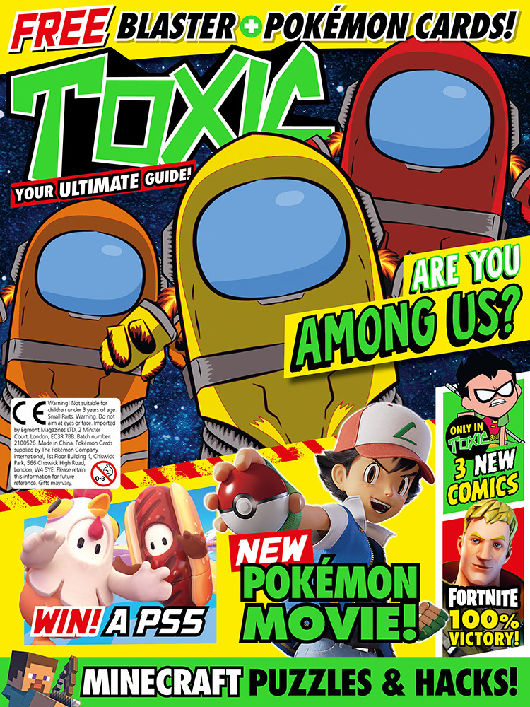 Toxic Magazine Issue 347 Cover