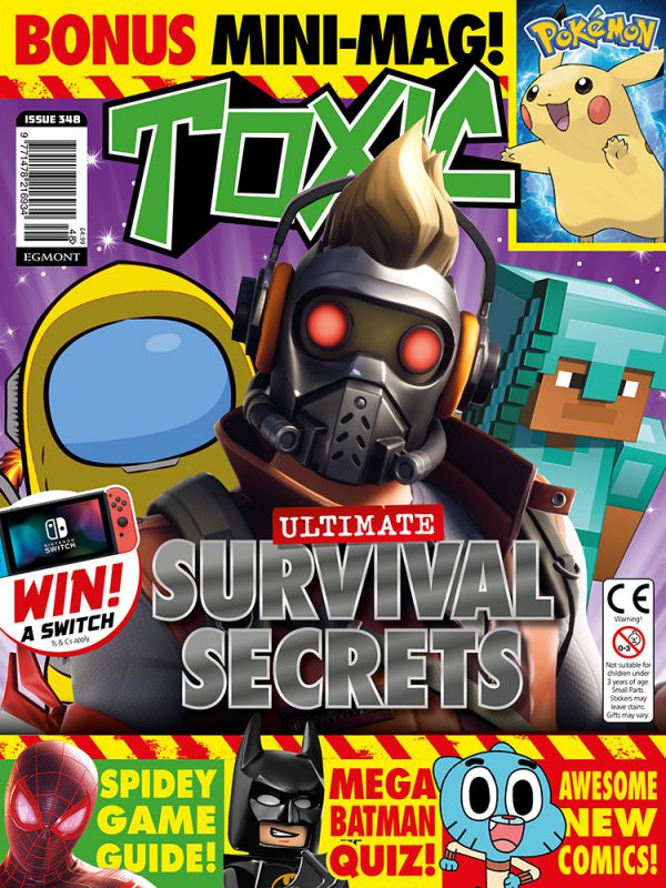 Toxic Magazine Issue 348 Cover