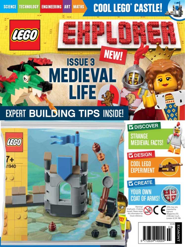 LEGO Explorer Subscription Magazine Issue 3