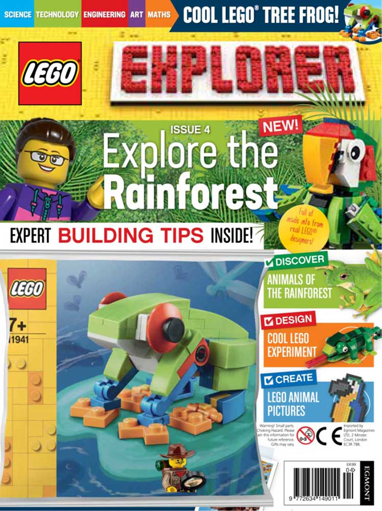 LEGO Explorer Subscription Magazine Issue 4