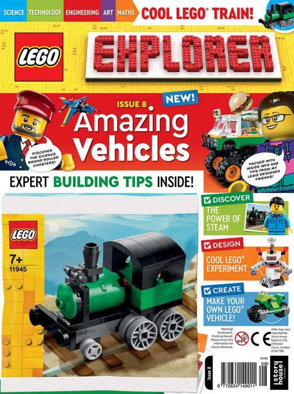 LEGO Explorer Subscription Magazine Issue 8