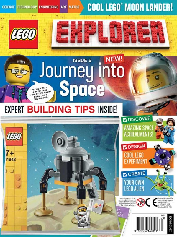 LEGO Explorer Subscription Magazine Issue 5