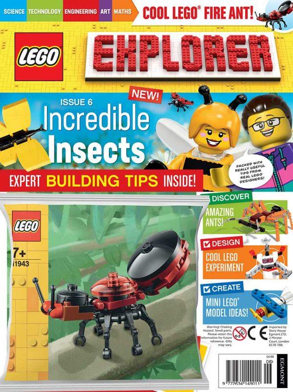 LEGO Explorer Subscription Magazine Issue 6