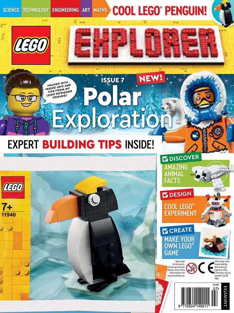LEGO Explorer Subscription Magazine Issue 7