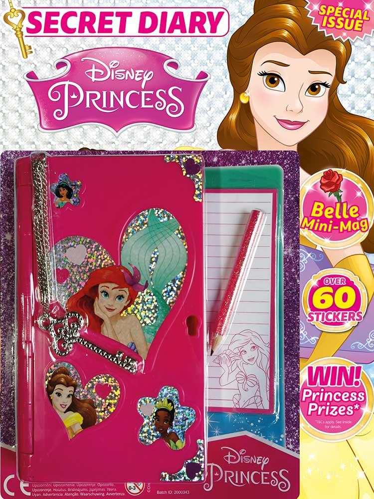 Disney Princess Magazine Issue 481 Notebook Toy