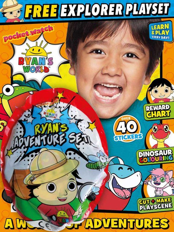 Ryan's World Magazine Issue 20 Surprise Toy