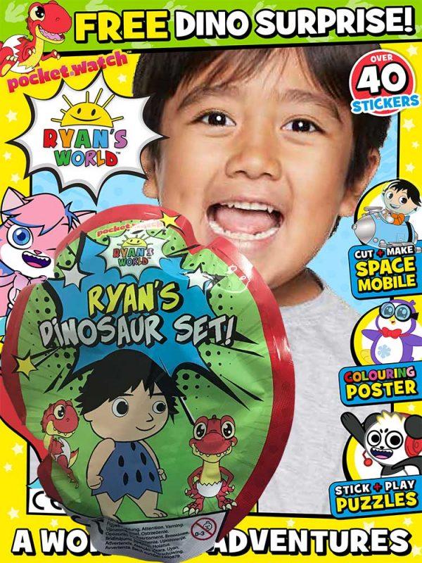 Ryan's World Magazine Issue 22 Dino Gift