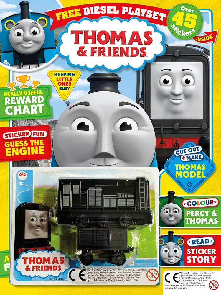 Thomas & Friends magazine issue 792 Diesel playset