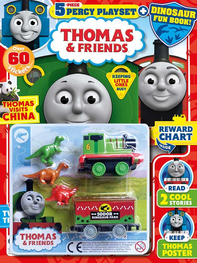 Thomas & Friends magazine issue 793 Percy playset