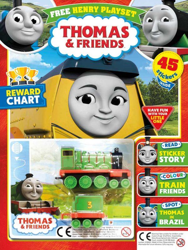 Thomas & Friends Magazine Issue 796 Henry Playset