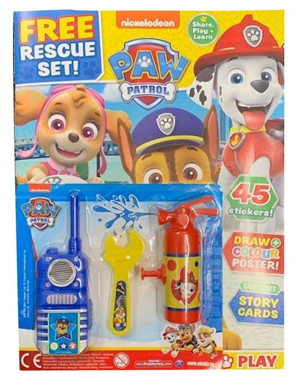 PAW Patrol Magazine with Gift Issue 85
