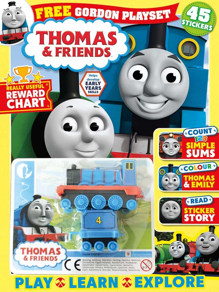 Thomas and Friends Magazine Gordon Toy